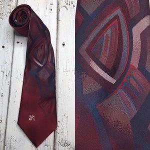 Vintage 1970s Don Loper Beverly Hills Tie